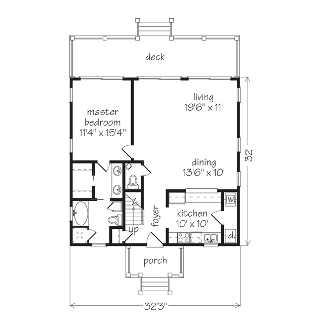 Gardenia william h phillips southern living house plans for The villages gardenia floor plan