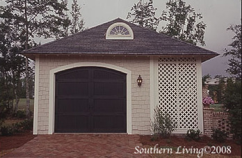 Abberley lane john tee architect southern living for Southern living garage plans