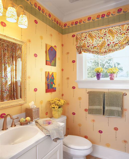 Girls Bath. Newberry Park   Allison Ramsey Architects  Inc    Southern Living