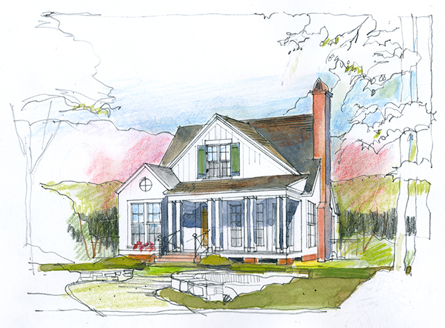 The Cherry Hill Southern Living House Plans