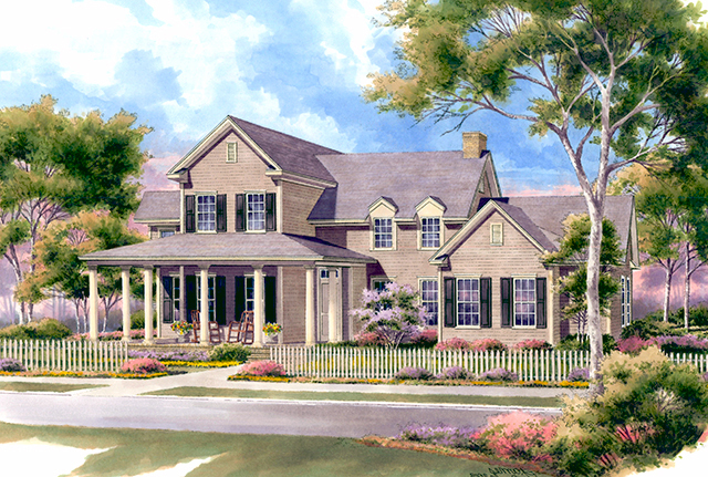 silverthorne cottage - | southern living house plans