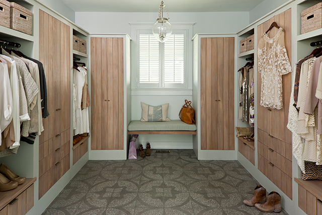 Idea house at fontanel southern living house plans for Southern closets