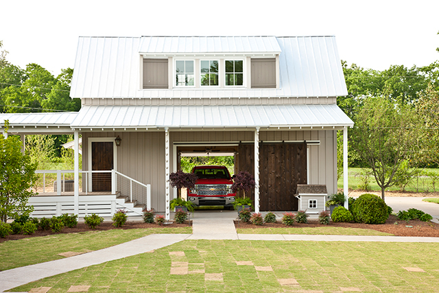 Idea house at fontanel southern living house plans for Southern living detached garage plans