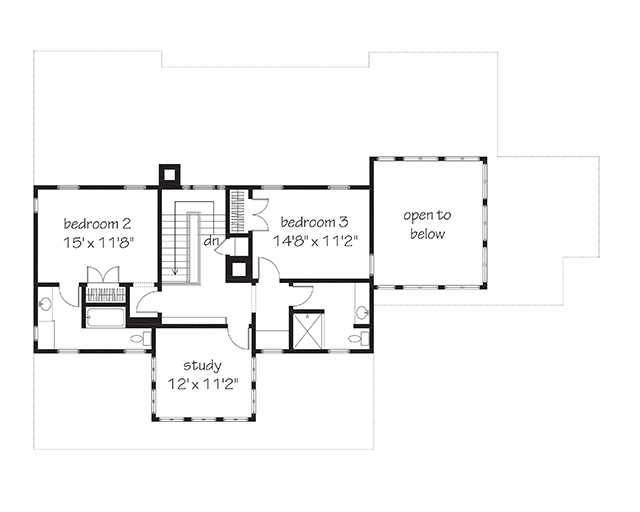 Southern living vintage lowcountry house plans for Southern living floor plans