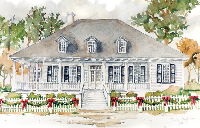 cane river cottage david sheley southern living house plans
