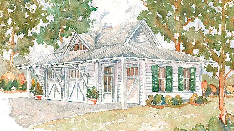 Southern Living House Plans | Low Country House Plans