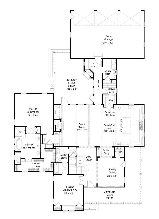 Fowler Cottage Southern Living House Plans