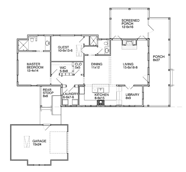 Woodward Southern Living House Plans