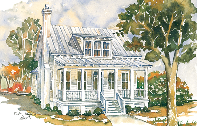 Lowcountry house plans southern living house plans for Southern low country house plans