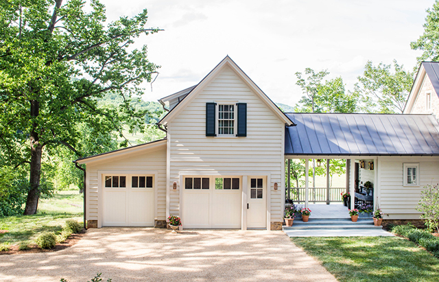 Fox hill southern living house plans for Southern living garage plans