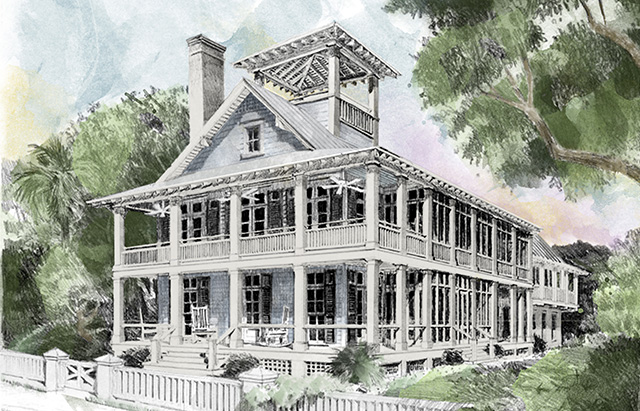 BeachCoastal House Plans Southern Living House Plans