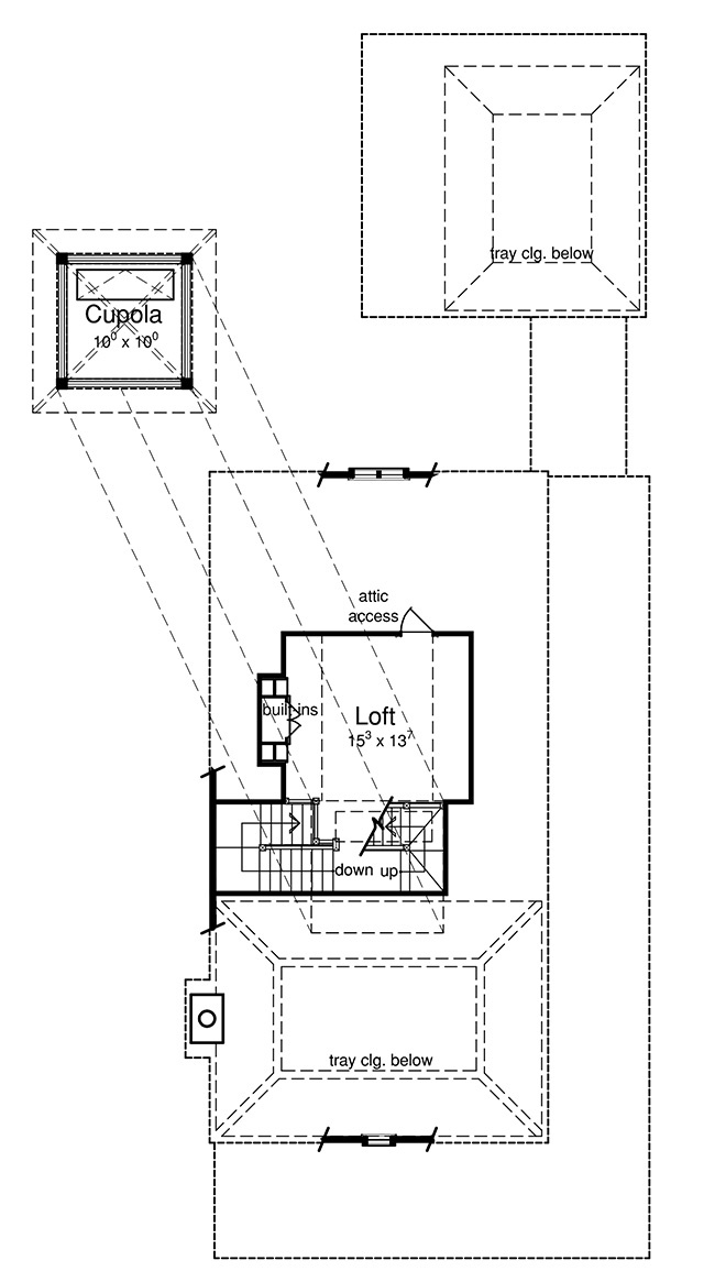 Third Level Floor Plan