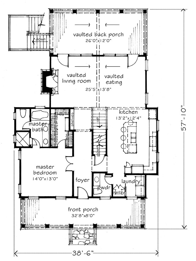Bayview Southern Living House Plans