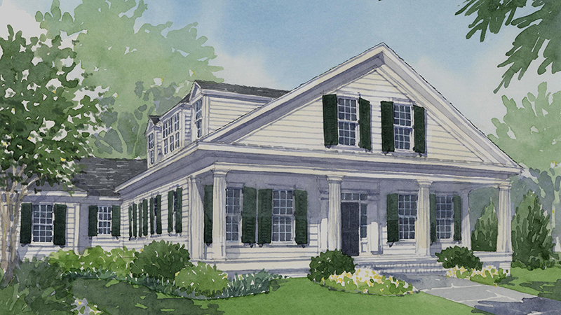 Coweta Cottage Southern Living House Plans