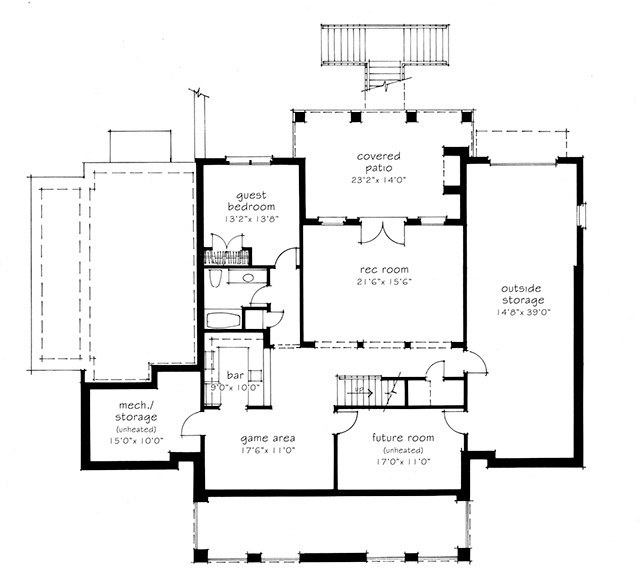 Lower Level Floor Plan