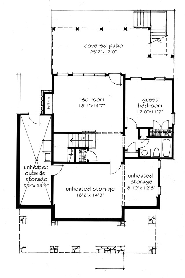 Sweetbay cottage southern living house plans for Southern living cottage floor plans