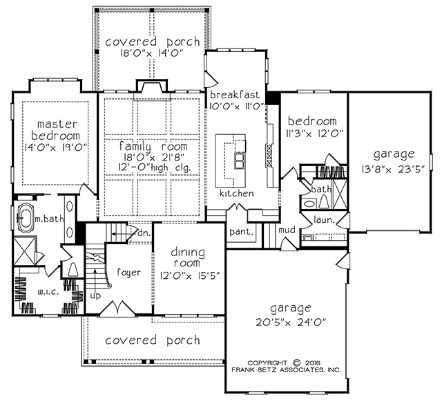 Statesboro southern living house plans - Floor plans southern living set ...