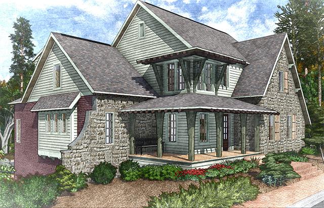 english tudor house plans | southern living house plans