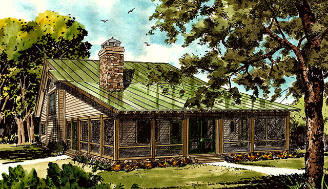 Bunkhouse Ii Southern Living House Plans