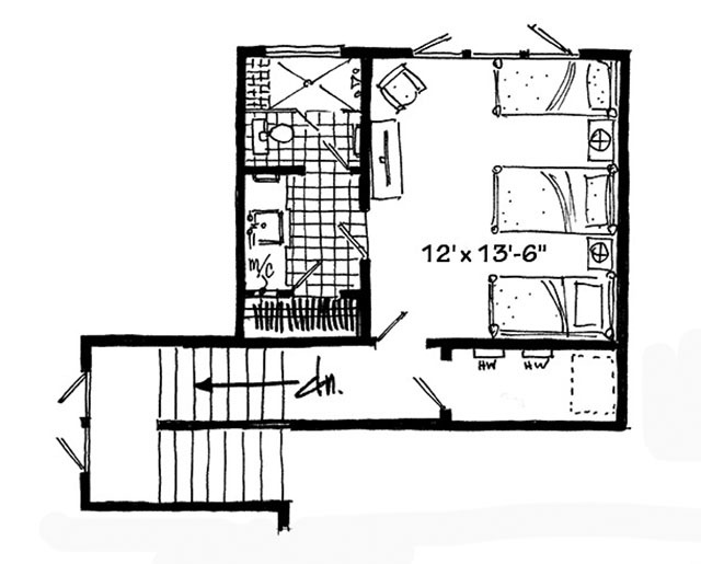Bunkhouse II - | Southern Living House Plans