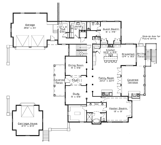 Awesome manor house plans ideas exterior ideas 3d gaml for Manor house plans