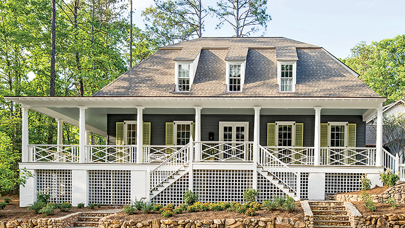 Wraparound Porches House Plans Southern Living House Plans