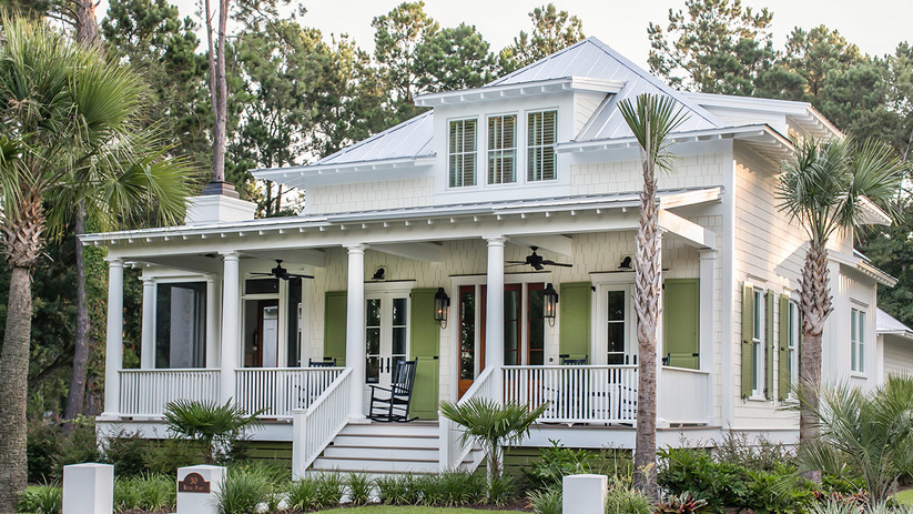 River place cottage southern living house plans for Southern living garage plans