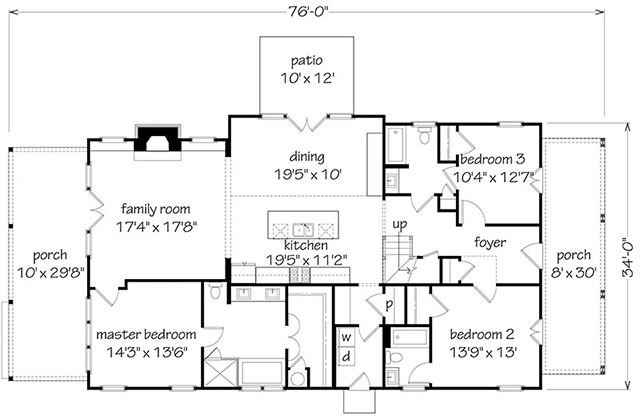 Longleaf Cottage Southern Living House Plans