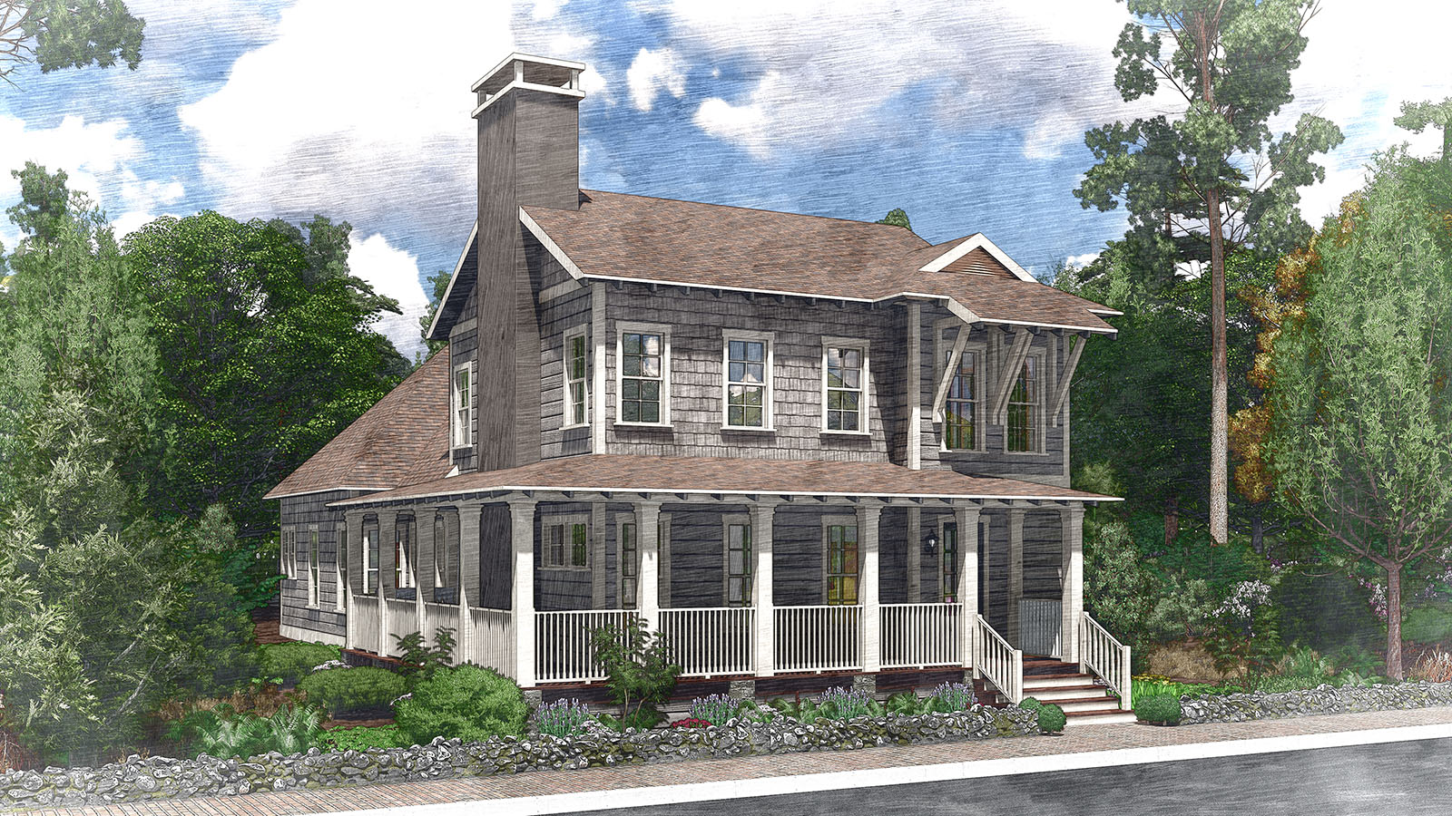 Cottage house plans southern living house plans for Southern living plans