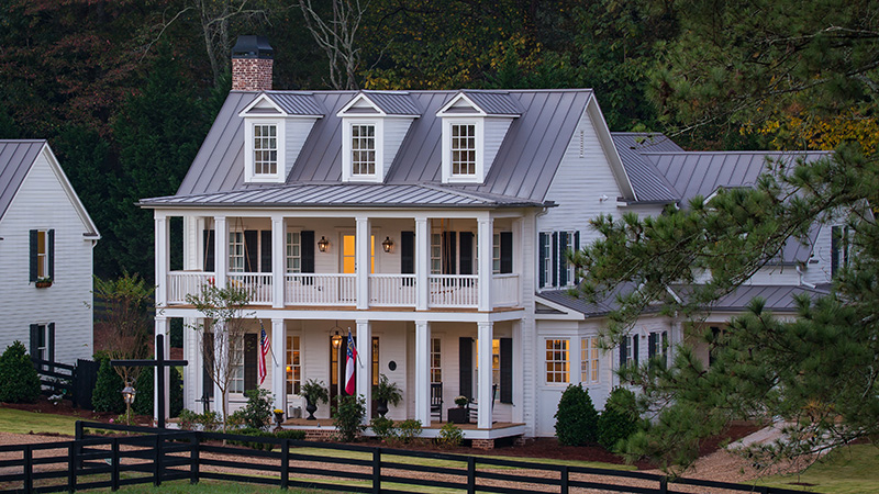 House Plans with Stacked Porches