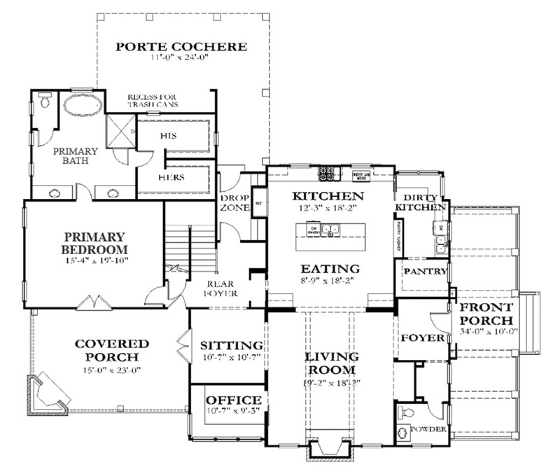 Sample Kitchen Floor Plans: Southern Living House Plans