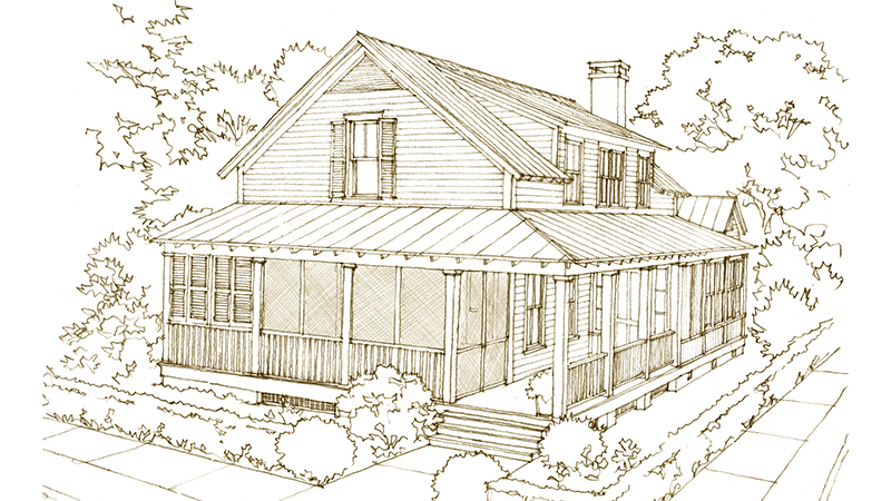 baker house 1885 hickman road southern living house plans
