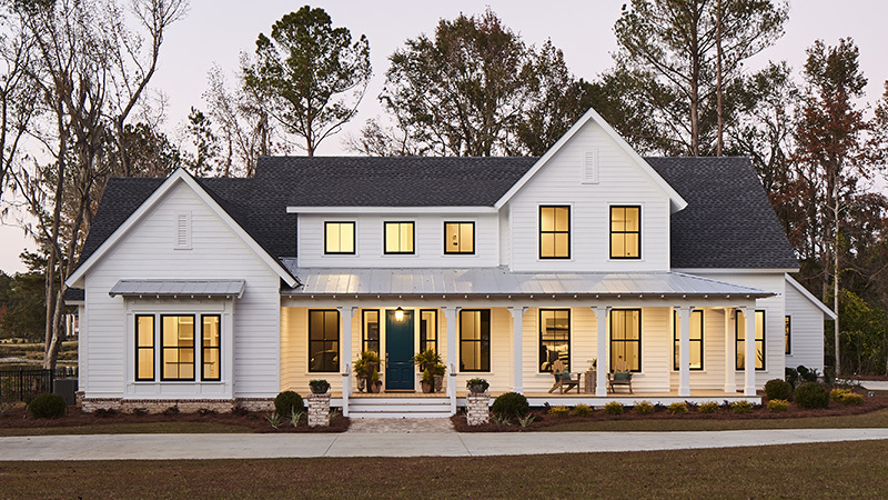 Whiteside farm southern living house plans for Free farmhouse plans