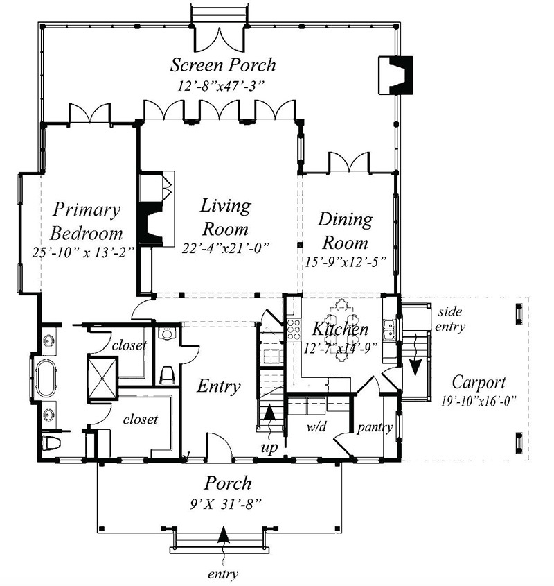 Linville Southern Living House Plans
