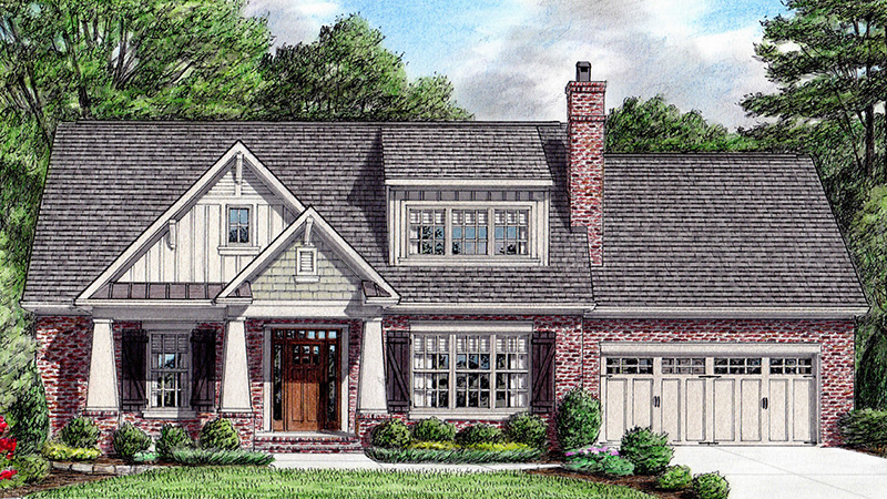 Our Favorite Craftsman-style House Plans