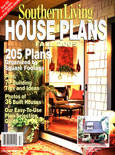 Southern Living House Plans Fall 2005