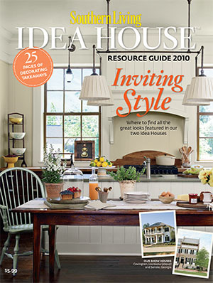 2010 Southern Living Idea House Resource Guide