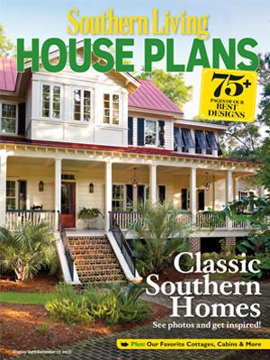 Rosebud cottage southern living house plans for Cottage home magazine