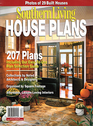Southern Living House Plans Fall 2006