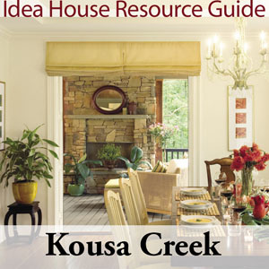 Kousa Creek Idea House Resource Guide