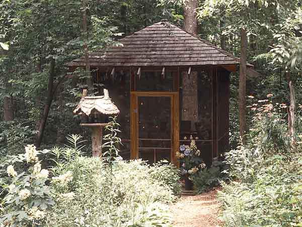 Screened Garden House
