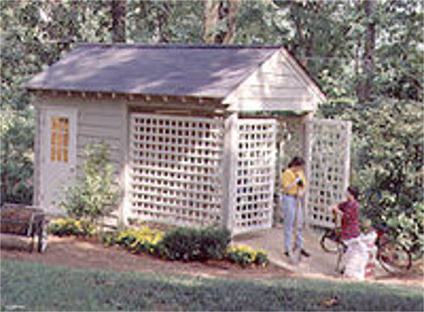 storage building southern living house plans