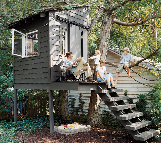 Ryland's Roost Ken Pursley Treehouse