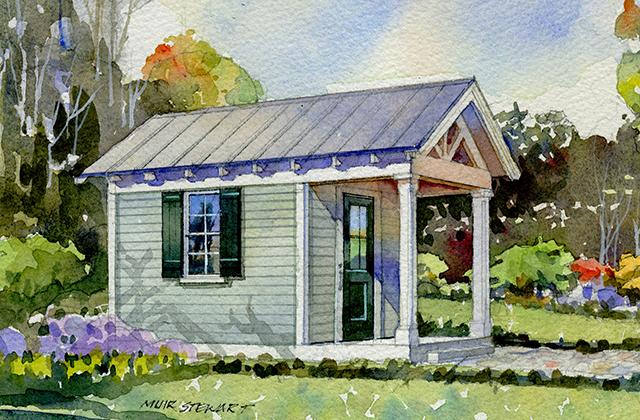 vernacular garden shed southern living house plans