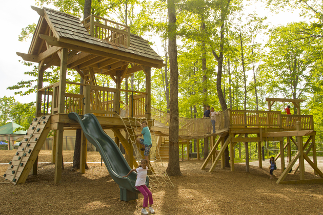 Henley treehouse playground2