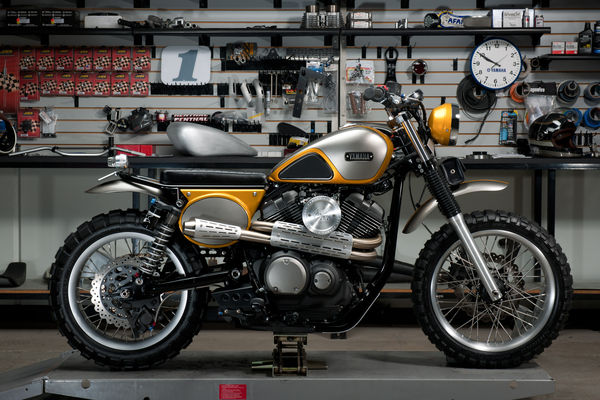 Yamaha SCR950 Scrambler Custom Build