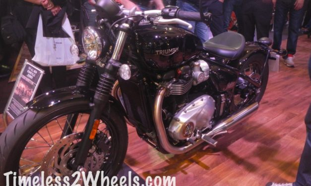 Bonneville Bobber – First Look Video
