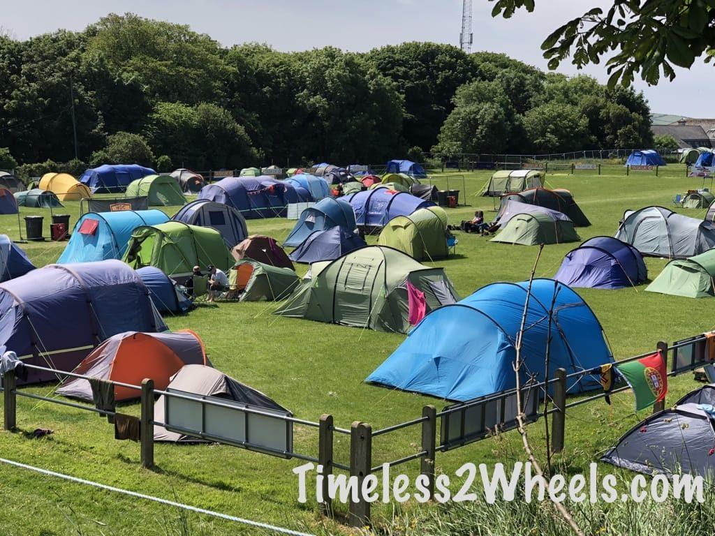 St georges campsite on Glencrutchery road