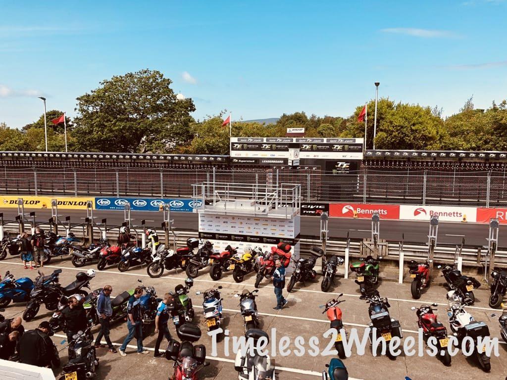 TT grandstand view