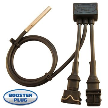 Booster plug for Triumph bobber